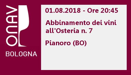 Cena didattica con ONAV Bologna