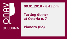 Tasting dinner by ONAV Bologna