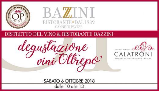 Degustazioni al ristorante Bazzini