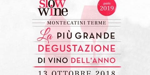 Presentazione della guida Slow Wine (19 ottobre 2018) - Locandina