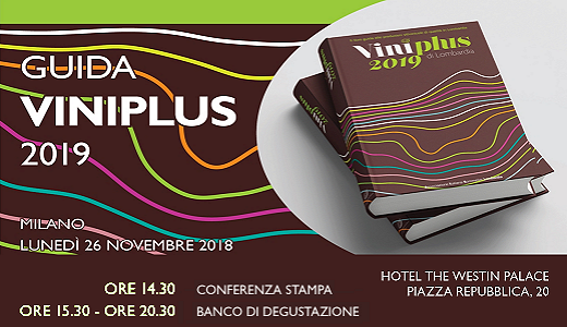 Presentazione della guida Viniplus AIS Lombardia 2019