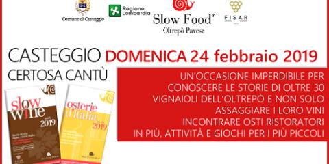 Presentazione delle guide di Slow Food (24/02/2019, Casteggio)