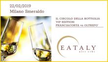 Metodo Classico tasting at Eataly Milan (02/22/2019)