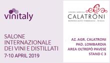 Vinitaly (Verona, 7-10 aprile 2019)