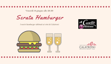 Hamburger and Calatroni wines tasting at Al Casello (06/14/2019)
