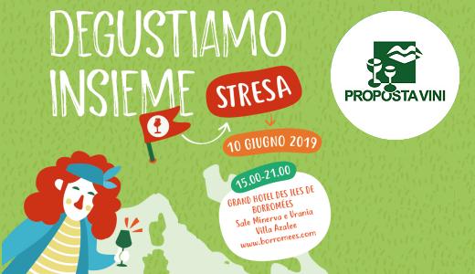 Presentation of the Proposta Vini 2019 catalogue (Stresa, 06/10/2019)