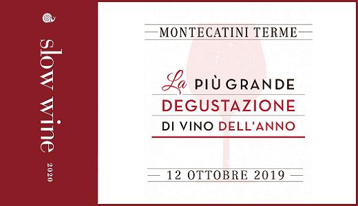 Presentazione Slow Wine 2020 (Montecatini Terme, 12/10/2019)