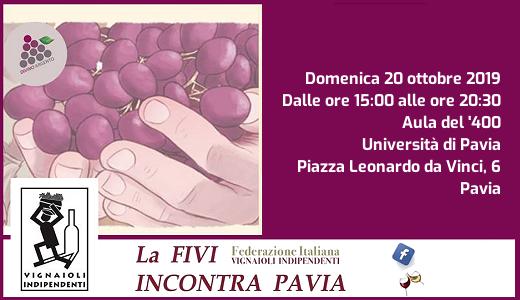 Degustazione FIVI OLtrepò Pavese (Pavia, 20/10/2019)