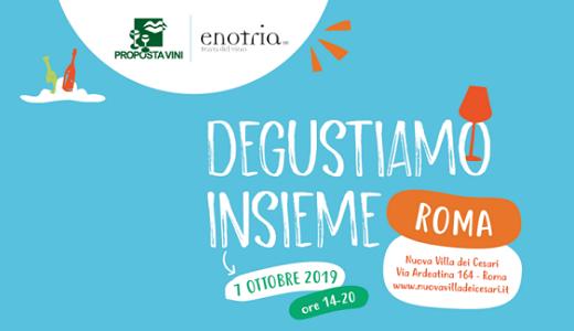 Presentazione del catalogo di Proposta Vini (Roma, 7/10/2019)