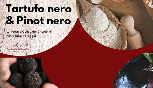 Cena tartufo nero e Pinot Nero (07/12/2019)
