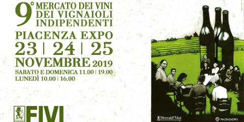 Market of FIVI wines (Piacenza, November 23-25 2019)