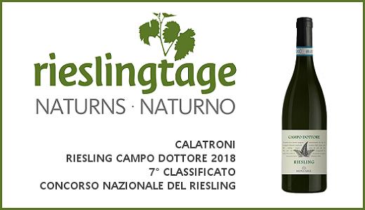 Concorso nazionale del Riesling di Naturno (09/11/2019)