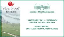 Degustazione Slow Food OP a Wiesbaden (16/11/2019)