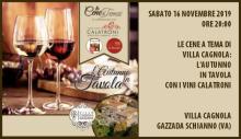 L'autunno in tavola a Villa Cagnola (16/11/2019)