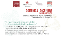 Discovering the 11 Chiocciola-awarded Lombardy wineries (Broni, 12/01/2019)