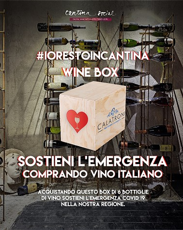 #iorestoincantina - Campagna benefica pro Policlinico San Matteo di Pavia