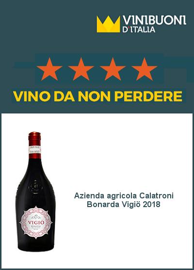 Vinibuoni d'Italia 2020 - Vino da non perdere - Bonarda Vigiö