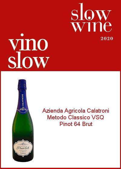 Slow Wine 2020 - Vino Slow - Pinot 64 Brut