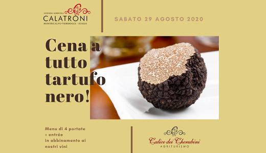 Black truffle dinner (08/29/2020)