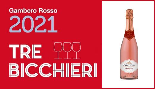 Gambero Rosso - Tre Bicchieri 2021 - NorEma Rosé Extra Brut 2017