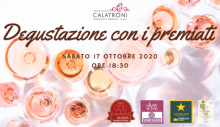 Calatroni award-winning wines tasting (10/17/2020)