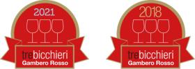 Gambero Rosso 2018 e 2021 - Tre Bicchieri - NorEma