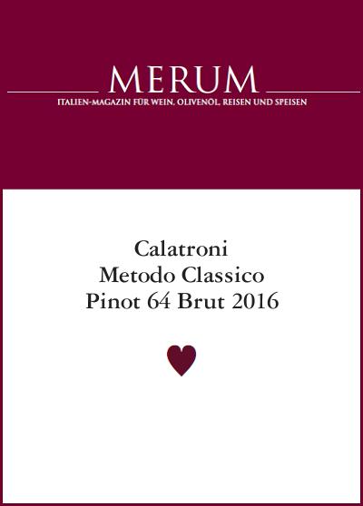 Merum 2020 - Pinot 64 Brut 2016