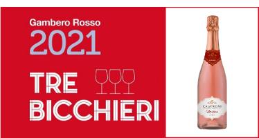 NorEma Rosé Extra Brut - Tre Bicchieri Gambero Rosso