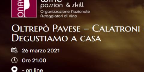 Degustazione con ONAV Cremona (26/03/2021)