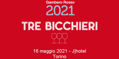 Gambero Rosso Three Glasses tasting (Turin, 05/16/2020)