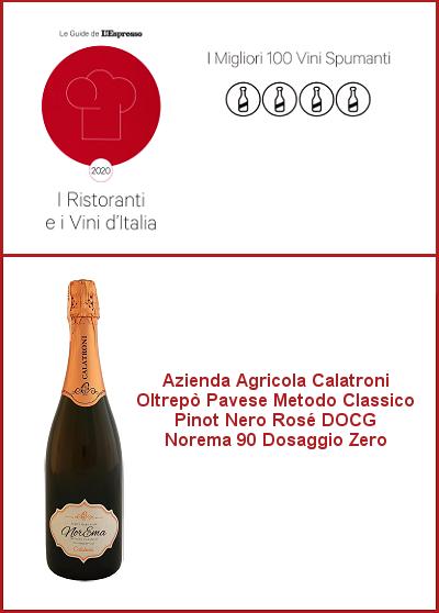 Espresso 2020 - I migliori 100 spumanti d'Italia - NorEma 90