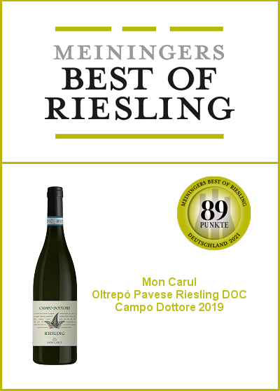 Meiningers Best of Riesling 2021 - Riesling Campo Dottore 89/100