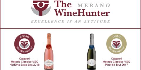 The WineHunter award 2021 - Calatroni
