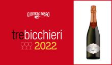 Gambero Rosso 2022 - Tre Bicchieri - Cuvée Rosé Pas Dosé 2013