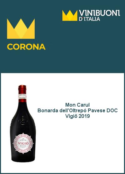 Vinibuoni d'Italia 2022 - Corona - Bonarda Vigiö 2020